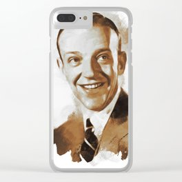 Fred Astaire, Actor, Dancer, Singer Clear iPhone Case