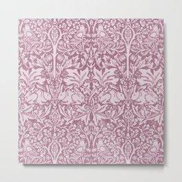 William Morris,The Strawberry thief,revamped Metal Print