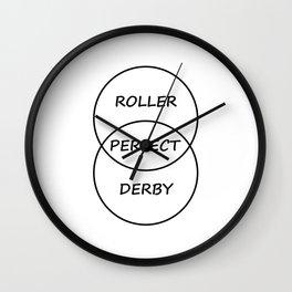 Roller Hockey Wall Clock