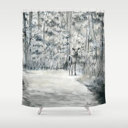 Follow Me by Teresa Thompson Shower Curtain