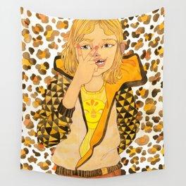Tay-Tay Leopard Girl Wall Tapestry