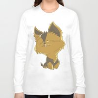 terrier Long Sleeve T-shirts featuring Terrier by thinkgabriel