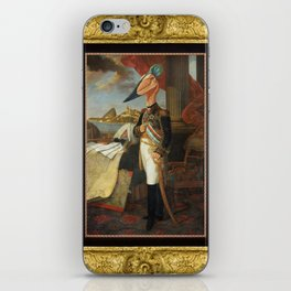 Framed Tyrant Tupuxuara iPhone Skin