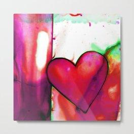 Heart Dreams 1O by Kathy Morton Stanion Metal Print