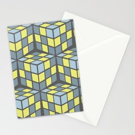 cascade - lemon Stationery Cards