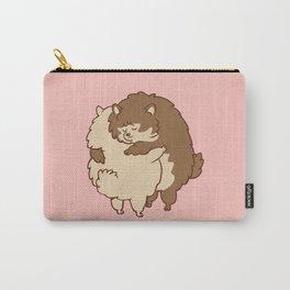 Pomeranian Hugs Carry-All Pouch