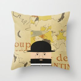 Henri de Toulouse Throw Pillow