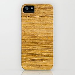 Old wooden boards iPhone Case