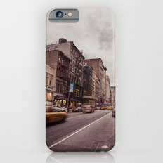 A Yellow Cab In SoHo iPhone 6s Slim Case