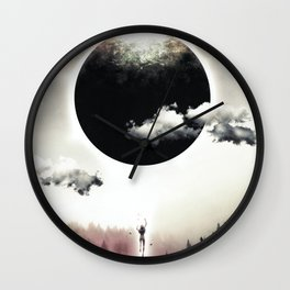 A Dream of Gravity Wall Clock