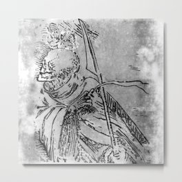 Ankou Metal Print