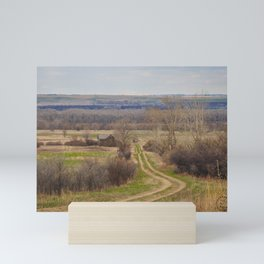 Sanger, North Dakota 2 Mini Art Print