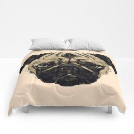 Geometric Pug Comforters