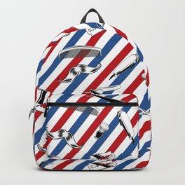 Barber Shop Pattern V2 Backpack