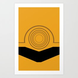 Cee-Threepio Art Print