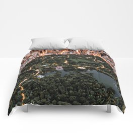 Central Park New York Comforters