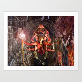 The Necromancer Art Print