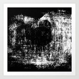 Black & White Abstract Series ~ 5 Art Print