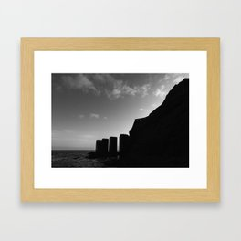 Autumn in La Gomera Framed Art Print