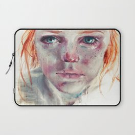 my eyes refuse to accept passive tears Laptop Sleeve