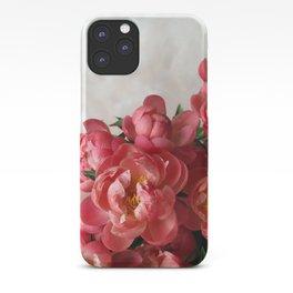 Peony Cascade iPhone Case