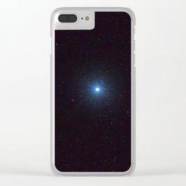 Sirius Brightest star on Night sky, Sirius Star Clear iPhone Case