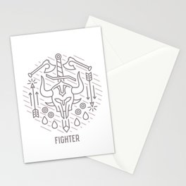 Fighter Emblem Stationery Cards