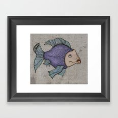 Pececitos color! II Framed Art Print