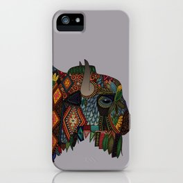bison heather iPhone Case