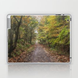Autumn Cycle Path Laptop & iPad Skin