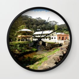 Stringers Creek - Walhalla - Australia Wall Clock