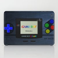 gameboy iPad Cases featuring GAMEBOY COLOR by Smart Friend