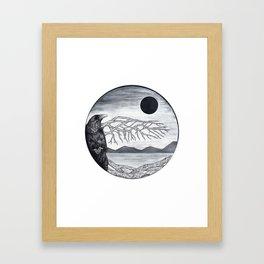 Wooden Bird Framed Art Print