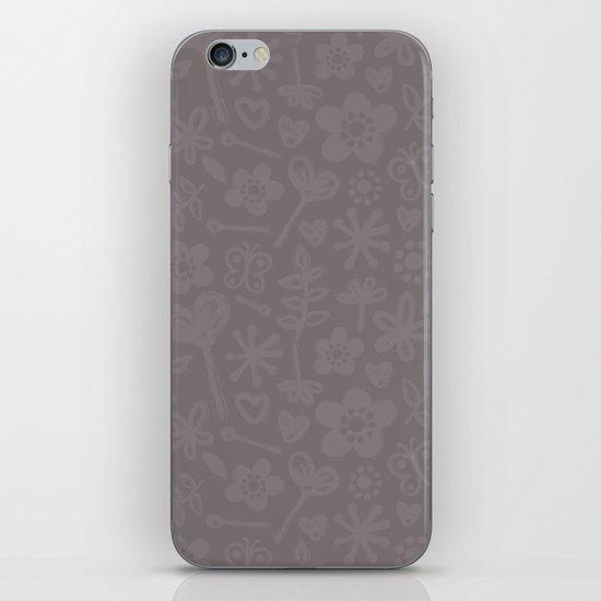 Mocha Doodles iPhone & iPod Skin