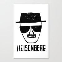 breaking Canvas Prints featuring Heisenberg - Breaking Bad Sketch by Bright Enough💡
