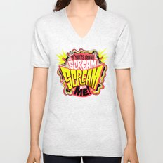 Scream With Me Unisex V-Neck