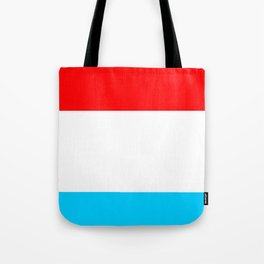 flag of luxembourg 2- Luxembourgish,Lëtzebuerg,Luxemburg,Luxembourger, luxembourgeois Tote Bag