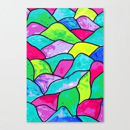 Vitro funky colors Canvas Print