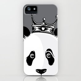 King Panda iPhone Case