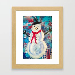 Let it Snow, Let it Snow Framed Art Print