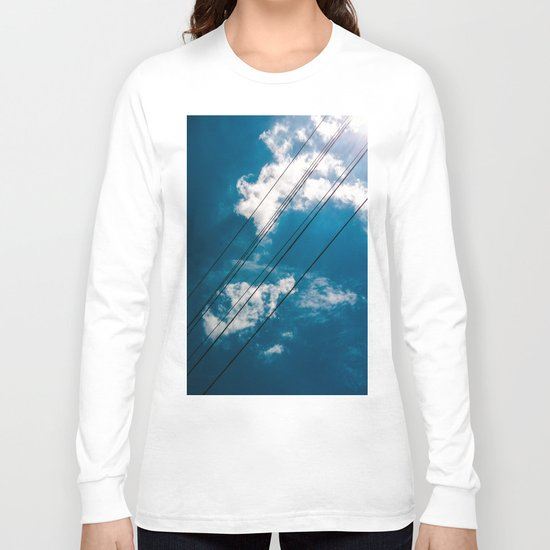 Lines in the sky Long Sleeve T-shirt