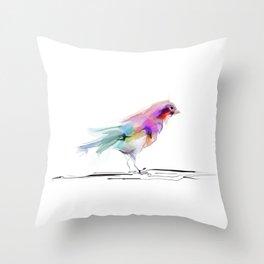 cute bird2 Throw Pillow