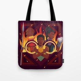 Women of Wakanda v2 Tote Bag
