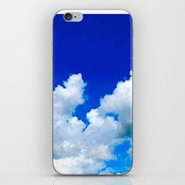 Clouds in a Clear Blue Sky iPhone Skin