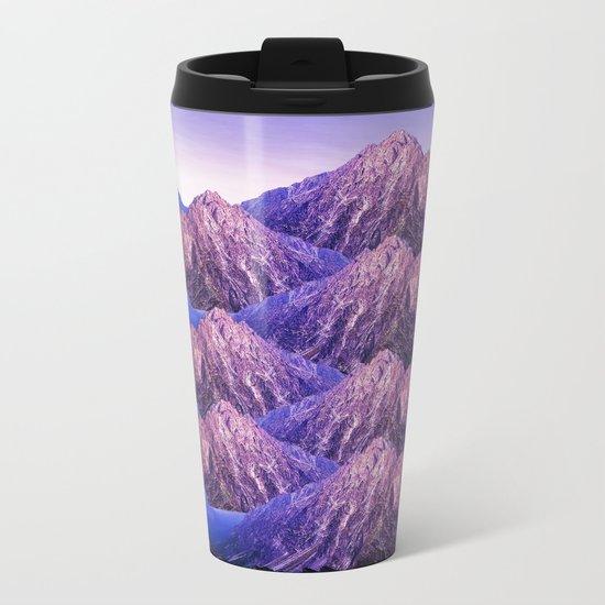 The Mountains of my Heart Metal Travel Mug