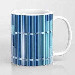 Metal Against Glass, City Textures, Grand Canal, Dublin, Ireland Coffee Mug