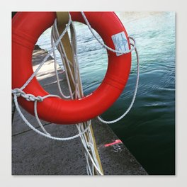 The Red Buoy Canvas Print