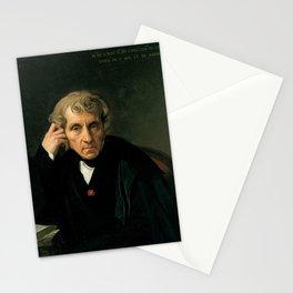 Jean-Auguste-Dominique Ingres - Luigi Cherubini Stationery Cards