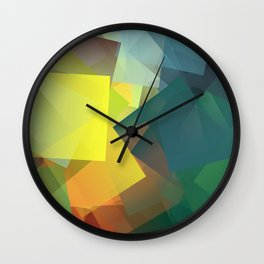 Cubism Abstract 194 Wall Clock