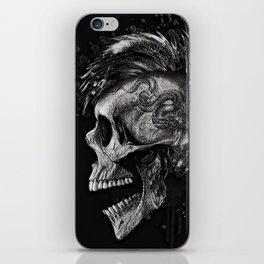 Skull dark illustration. iPhone Skin